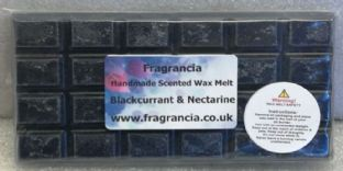 85 gram Highly Scented Wax Melt bar (BLACKCURRANT & NECTARINE)